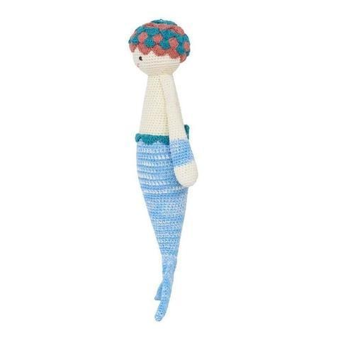 Azure the Mermaid-Handmade doll-lamaninadolls-lamaninadolls handmade crochet dolls