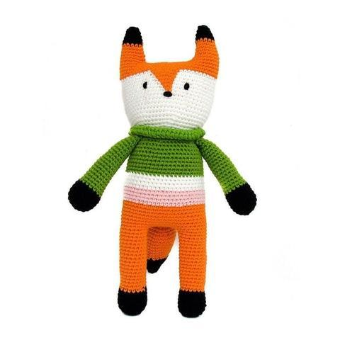 Frankie the Fox-lamaninadolls-lamaninadolls handmade crochet dolls