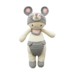 Ryan the Rat-lamaninadolls-lamaninadolls handmade crochet dolls