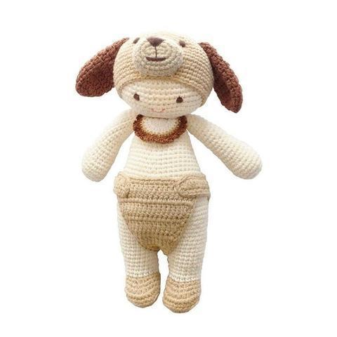 Daisy the dog-lamaninadolls-lamaninadolls handmade crochet dolls