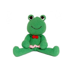 Francisco the Frog-lamaninadolls-lamaninadolls handmade crochet dolls