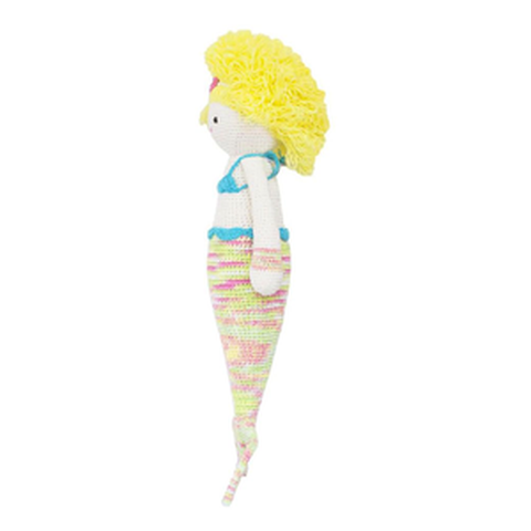 Melody the Mermaid-Handmade doll-lamaninadolls-lamaninadolls handmade crochet dolls