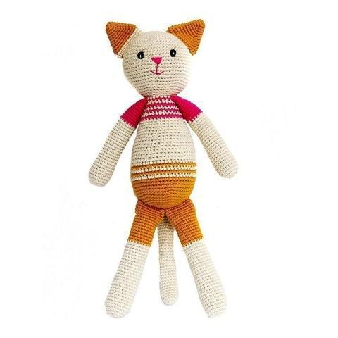 Neko the Cat-lamaninadolls-lamaninadolls handmade crochet dolls