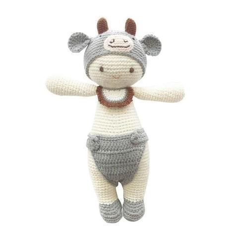 Olly the Ox-lamaninadolls-lamaninadolls handmade crochet dolls
