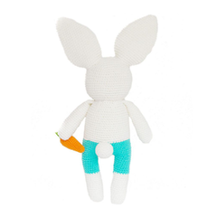Ricardo the Rabbit-Handmade doll-lamaninadolls-lamaninadolls handmade crochet dolls