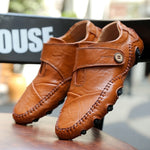 Code: S766351 Men's Business Casual Shoes High Qualit Breathable Joint Leather Oxford Shoes Plus Size Lazy Shoes Size:39-47