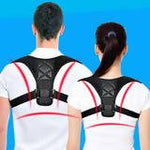 Code: H00768 Adjustable Medical Men/women Back Posture Corrector Clavicle Spine Back Shoulder Lumbar Brace Support Belt Posture Correction 03 Free Shipping Delivery 15-40 days (Same day Delivery within Male' City)