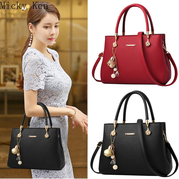 2019 Fashion New Style Women's Bag, Appliques Messenger Bag, Single Shoulder Diagonal Large Capacity Handbag purses andhandbags
