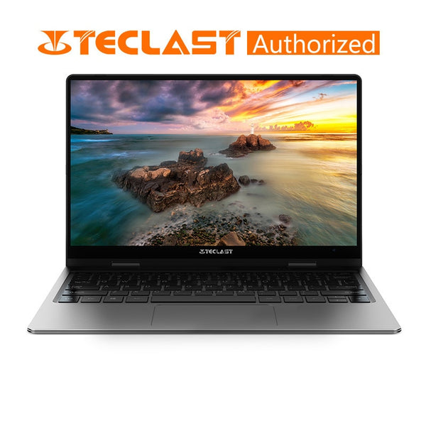 Code: L875546 Teclast F6 Pro 360 Degree Laptop Windows 10 OS 13.3 inch 1920x1080 8GB RAM 128GB SSD Intel Core m3-7Y30 Dual Core Notebook