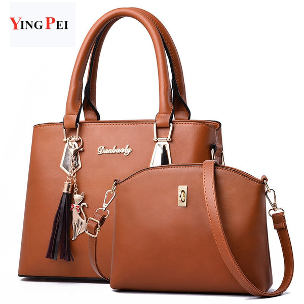 women bag Fashion Casual women's handbags Luxury handbag Designer Shoulder bags new bags for women Composite bag bolsos mujer
