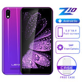 "LEAGOO Z10 Android Mobile Phone 5.0"" 18:9 Display 1GB RAM 8GB ROM MT6580M Quad Core 2000mAh 5MP Camera 3G Smartphone"
