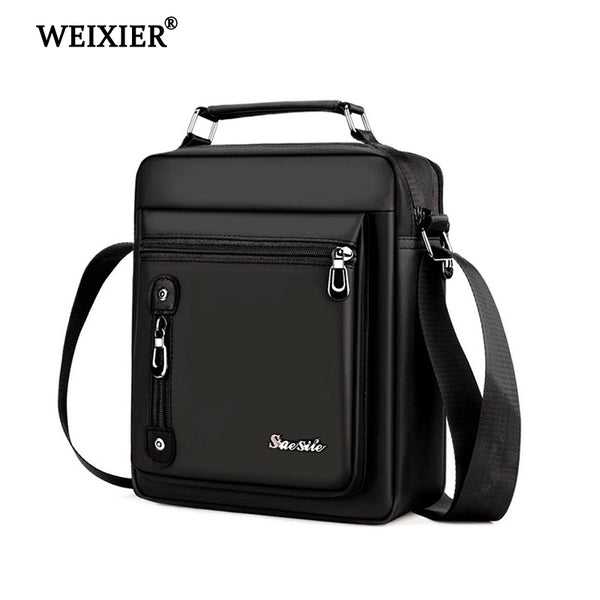 Code: B799662 WEIXIER New 2019 Hand Bags Men Waterproof Nylon Business Crossbody Bag  Luxury Shoulder Casual Bags Fashion designer Messenger