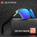 Code: S587764 QUISVIKER BRAND DESIGN Polarized Sunglasses Men Women Driving Sun Glasses Male Square Goggles UV400 Eyewear (No paper box)
