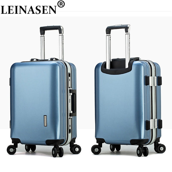 "Popular fashion students rolling luggage 20"" 22"" 24"" 26"" inch brand carry on box men travel suitcase women trolley luggage"