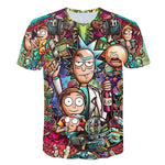 Code: T288652 Rick and Morty By Jm2 Art 3D t shirt Men tshirt Summer Anime T-Shirt Short Sleeve Tees O-neck Tops Drop Ship
