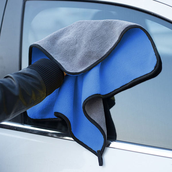 30X30CM Polyester Thick Auto Care Detailing Polishing Microfiber Fiber Home Washing Super Absorbent Car Towel Cleaning Cloths