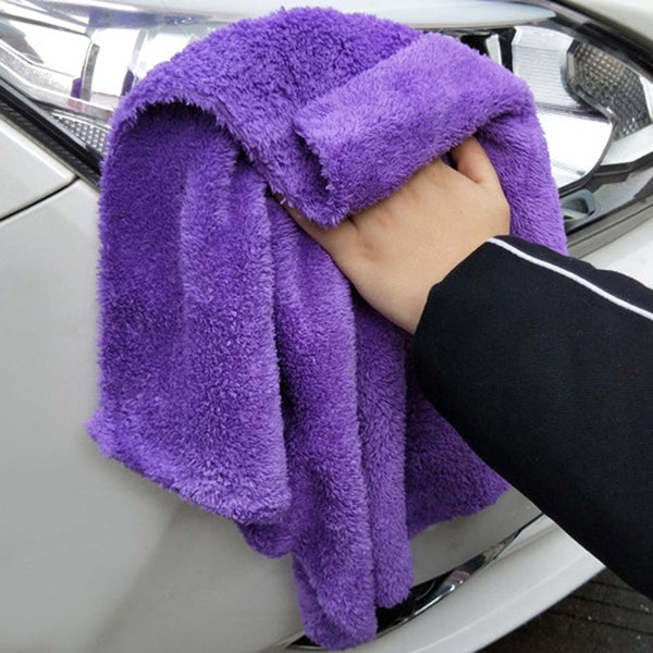350GSM Premium Microfiber Car Detailing Super AbsorbentTowel Ultra Soft Edgeless Car Washing Drying Towel 40X40CM