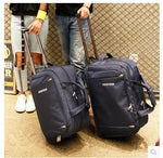 Code: B445225 Men Travel Luggage Bag women Oxford Suitcase Travel Rolling Bags On Wheels Travel Rolling Bags Business Trolley Wheeled Bags Free Shipping Delivery 20-40 days