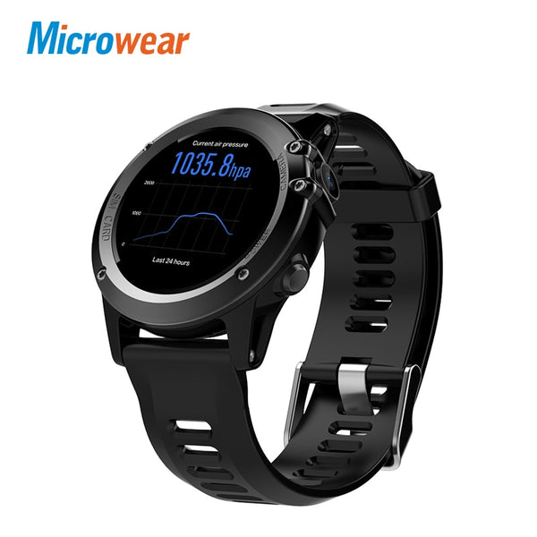 "Code: SMTW 5253683 Free Shipping Delivery 15-40 days Microwear H1 Smart Watch Android 4.4 Waterproof 1.39"" MTK6572 BT 4.0 3G Wifi GPS SIM For iPhone Smartwatch Men Wearable Devices"