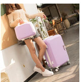 Code: L78777 Women Travel Luggage Set Trolley suitcase Cosmetic Suitcase Rolling Bags  On Wheels  Women Wheeled Rolling Luggage Suitcase Free Shipping Delivery 20-40 days