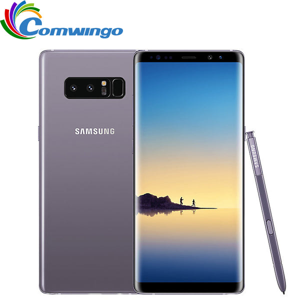 Code: M155369 Original Samsung Galaxy Note 8 6GB RAM 64GB ROM 6.3 inch Octa Core Dual Back Camera 12MP 3300mAh Unlocked Smart Mobile Phone USD453.91 Free Shipping