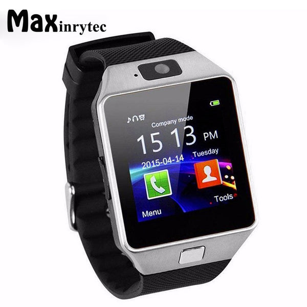 Code: SMTW 7583654 Free Shipping Delivery 15-40 days Maxinrytec Smart Watch DZ09 Smartwatch Sport Phone Wrist Watch For iPhone Android Men Women Wristwatch support sim tf card PK A1