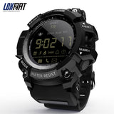 Code: SMTW 4445558  Free Shipping Delivery 15-40 days LOKMAT Smart Watch bluetooth digital men clock Pedometer smartwatch Waterproof IP67 Sport For ios Android Phone