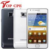 Original Unlocked Samsung GALAXY S2 SII I9100 EU version wifi GPS  8.0MP 4.3'' 1GB RAM 16G Rom Android refurbished mobile phone