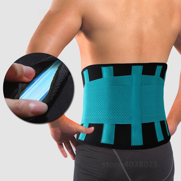 Price USD28.00 - Code: M2566352 Lumbar Corset Orthopedic  Medical Back Brace Waist Belt Spine Support Men Women Belts Breathable Device Back Brace &Supports
