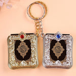 Code: G986652 2019 Fashion Jewelry Mini Arabic Quran Quran Islamic Islamic Allah Real Paper Can Read Pendant Keyring Fashion Religious Jewelry Free Shipping Delivery 15-40 days