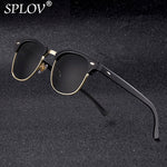 Code: S499652 2018 New Fashion  Semi Rimless Polarized Sunglasses Men Women Brand Designer Half Frame Sun Glasses Classic Oculos De Sol UV400
