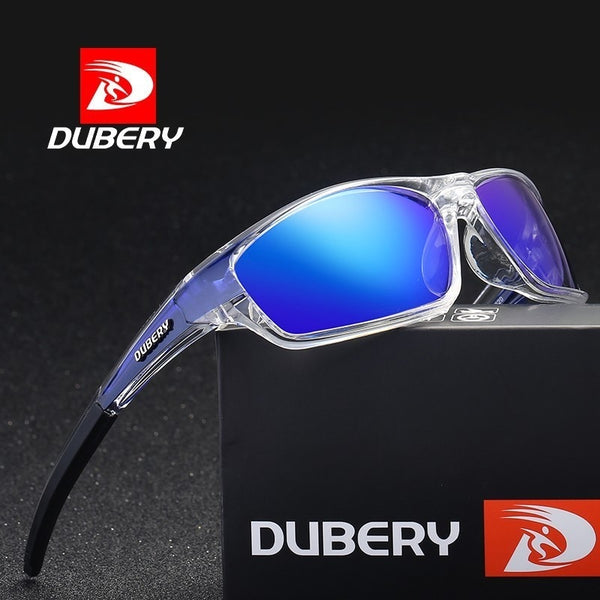 Code: S587741 DUBERY Polarized Sunglasses for Men Women 2019 New Fashion Goggle Vintage Sun Glasses Sport Driving Retro Mirror Luxury Brand