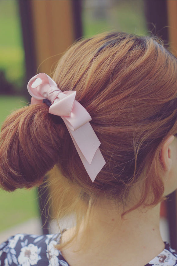 C15026 - Grace Girl Hairpin - Dây nơ xoắn đôi - Simple Store