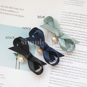 P18023 - Kẹp vịt (Kẹp mái) Cleverly Simple Ribbon pin - Simple Store