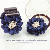 S16018 - Set Korea Camellia Flower - Simple Store