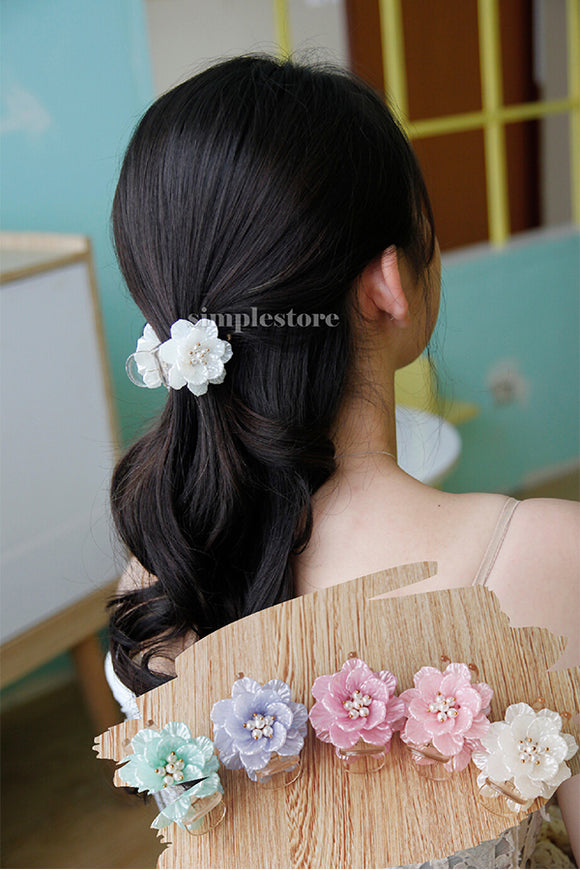 T22094 - Càng cua Pastel Fritta flower Korea version - Simple Store