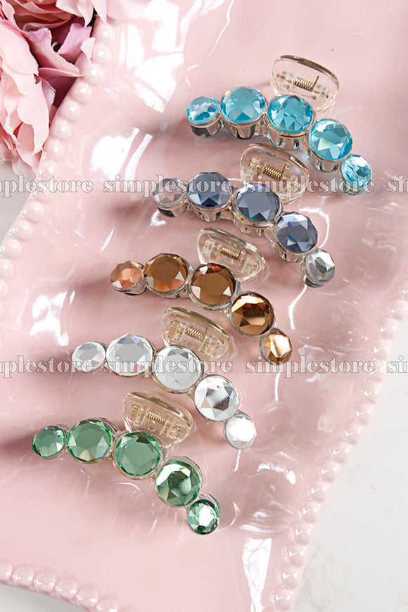 T22107 - Cặp dọc Shine crystal Tongs pin