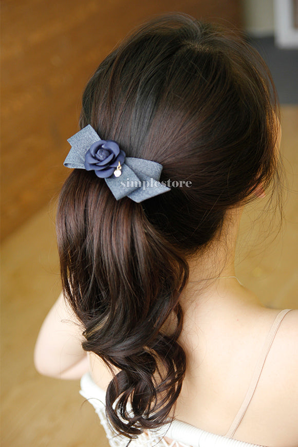 E22055 - [New Mood] Cặp bấm Rose Femin Hairpin - Simple Store