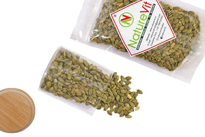 NatureVit Raw Pumpkin Seeds for Eating - Nature Vit