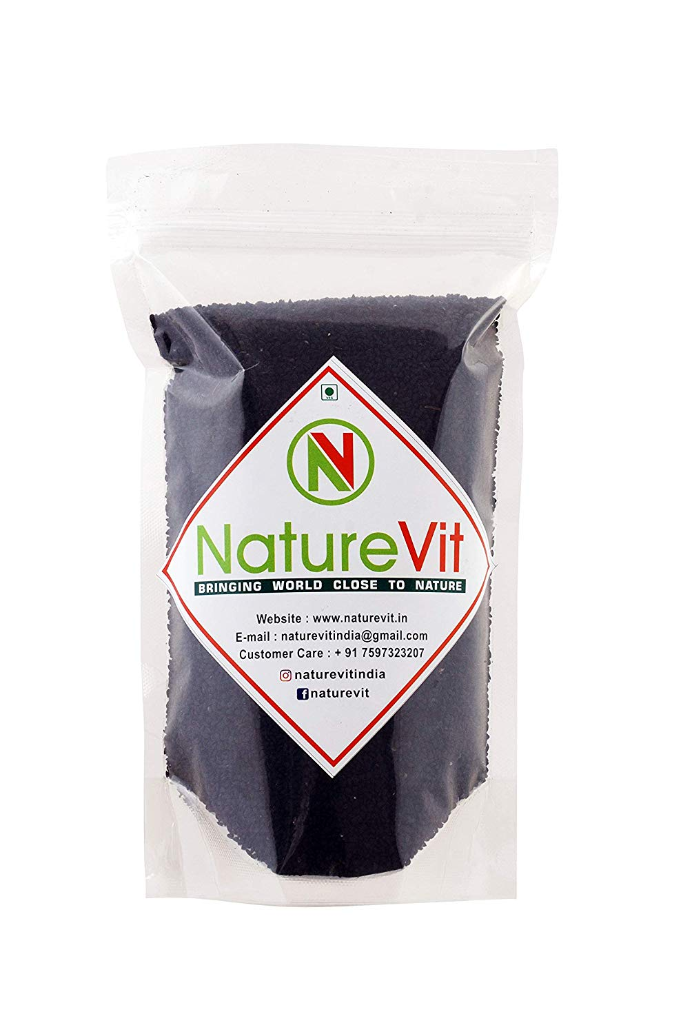 NatureVit Nigella Seeds [Kalonji] - Nature Vit