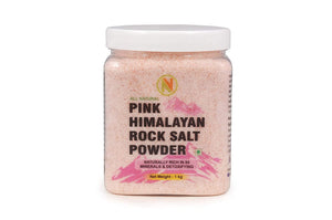 NatureVit Himalayan Pink Rock Salt Powder