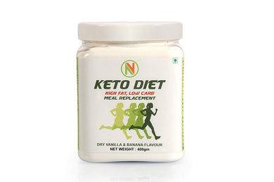NatureVit Keto Shake [Low Carb, Meal Replacement] - Nature Vit