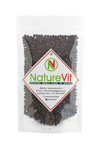 NatureVit Black Pepper [Bold & Pure Kali Mirchi]