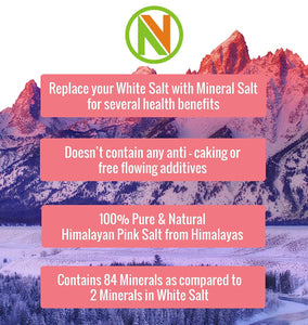 NatureVit Himalayan Pink Rock Salt Powder - Nature Vit