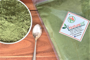 NatureVit Dehydrated Spinach Powder [All Natural, Dehydrated, Rich in Iron]