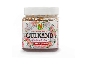 NatureVit Gulkand, 400gm [Rose Petals & Pure Mishri]