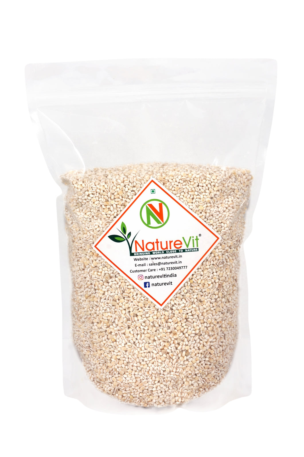 NatureVit Pearl Barley [All Natural & Fiber-Rich]