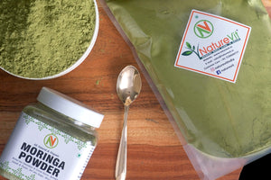 NatureVit Moringa Powder [100% Natural, Fresh & Pure]