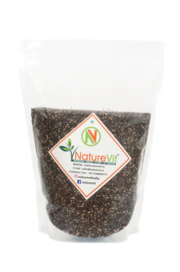 NatureVit Black Chia Seeds for Weight Loss