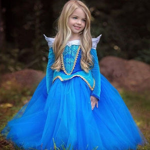"Children""s Long Sleeve  Party Dress"